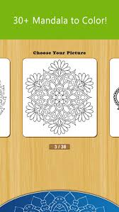 mandala coloring pages game for girls anxiety stress