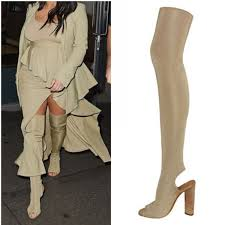womens thigh high boots size 11 2016 thigh high boots the knee high heel boots peep toe