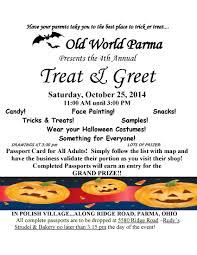 parents eat halloween candy polish village treat u0026 greet pumpkin patch cat adoption and more
