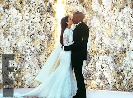 Wedding Album Cost Bridal Couture From Kim Kardashian U0026 Kanye West U0027s Wedding Album