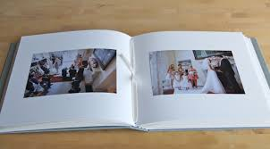 archival photo album square wedding albums hinged strung stitched