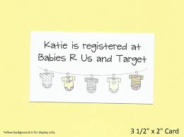 gift registry cards baby shower gift registry cards baby shower invitation