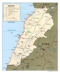 A Map Of Asia by Maps Of Lebanon Map Library Maps Of The World