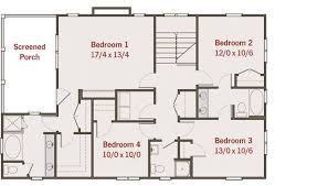 floor plans for 4 bedroom houses scintillating four bedroom bungalow house plans photos ideas