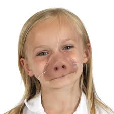 pink pigs nose for kids fancy dress