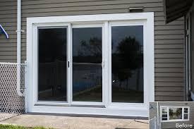 60 Inch Sliding Patio Door Innovative Sliding Glass Patio Doors With Door Designs 12