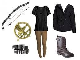 Hunger Games Halloween Costumes Katniss Literary Halloween Costumes Breathe Relax