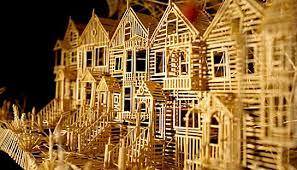 toothpick house toothpicks maine strange bedfellows moosetique musing