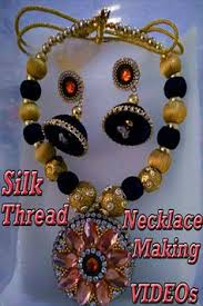 necklace designs making images Silk thread necklace making videos new designs for android apk jpg
