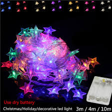 outdoor battery xmas lights dhl 100x colorful led christmas lights wedding party garden xmas