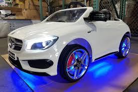 toddler battery car mercedes benz cla45 kids ride on car toy mp3 usb 12v bat powered
