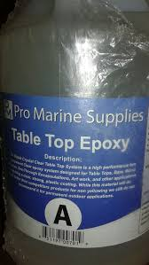 pro marine supplies table top epoxy pro marine supply tabletop epoxy and hardener general in kansas