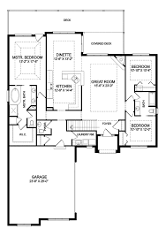 one story open concept floor plans one story house plans with split master and open concept single