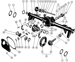 2003 dodge durango rear differential 1964 72 pontiac rear axle illustrated parts