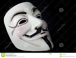 V For Vendetta Mask V For Vendetta Or Guy Fawkes Mask Editorial Photography Image