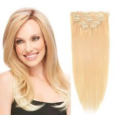 Clip In Blonde Hair Extensions by Clip In Hair Extensions Bhf 20 U0027 U0027 Bleach Blonde 613 120g