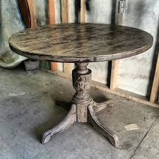 shabby chic round dining table 40