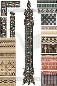 ornaments vector clipart