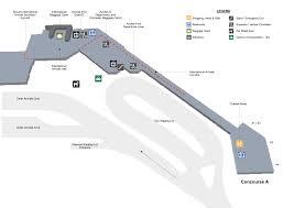 Phoenix Airport Terminal Map Terminal Maps Palm Beach International Airport