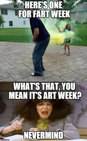 What S Meme Mean - here s one for fart week what s that you mean it s art week