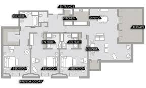 South African 3 Bedroom House Plans Three Bedroom House Plans South Africa House Plans