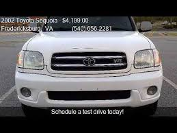 2002 toyota sequoia limited for sale 2002 toyota sequoia limited 4wd 4dr suv for sale in frederic