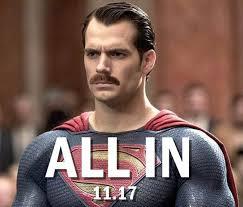Meme Mustache - superman mustache meme quirkybyte