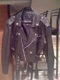 leather cycle jacket ladies leather