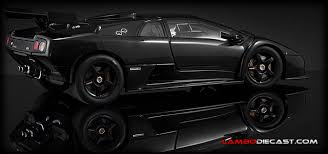 black lamborghini diablo the 1 18 lamborghini diablo gtr from autoart a review by