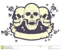 skull t shirt design royalty free stock image image 16374646