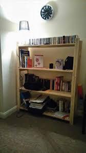 build a pallet bookcase bookshelves