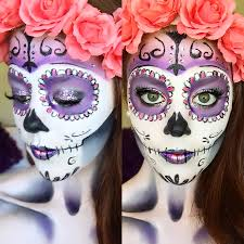classic sugar skull makeup tutorial halloween 2014 youtube