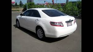 toyota 2010 2010 toyota camry ahv40r my10 hybrid white 1 speed constant