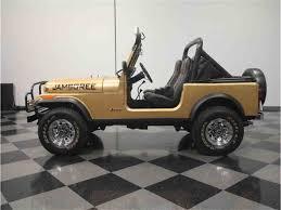 jeep jamboree logo 1982 jeep cj7 jamboree 30th anniversary for sale classiccars com