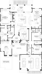 single story open floor plan valine
