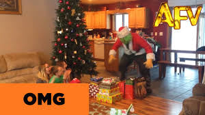 the grinch steals christmas presents afv youtube