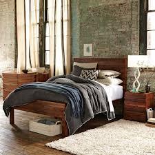west elm bedroom stria bed honey west elm