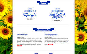 registry wedding website custom wedding website design development jjj