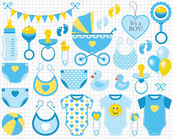 baby boy clipart blue baby boy clip art scrapbook