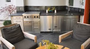 Straight Line Kitchen Designs Modern Outdoor Kitchen Design For Minimalist House Home Inspirations