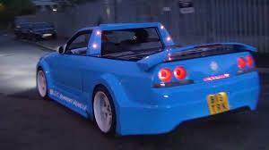 nissan pickup custom crazy nissan skyline pick up u0026 dodge viper gts youtube