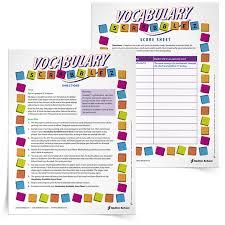 17 printable vocabulary building games