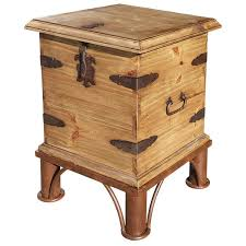 rustic pine end table rustic pine collection end table trunk w base lat69