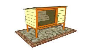 outdoor rabbit hutch plans myoutdoorplans free woodworking