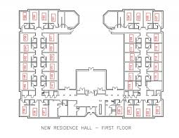 New Floor Plan New Residence Hall U2013 Residential Education And Housing