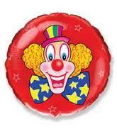 clown balloon bargain balloons clown 2fcircus mylar balloons and foil balloons