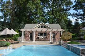 Pool House Cabana by Pool Guest House Plans Swimming Pool Modern Cabana Designs Plans