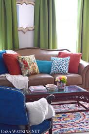 Livingroom Makeovers by Global Eclectic Living Room Makeover Reveal Casa Watkins Living