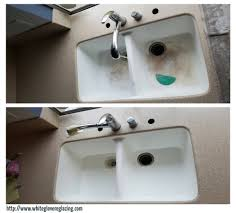 Resurfacing Porcelain Kitchen Sinks - Kitchen sink reglazing