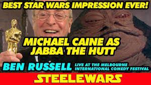Jabba The Hutt Meme - michael caine as jabba the hutt funniest star wars impression ever